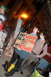 Photo taken at Occupy Chicago
