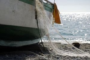 boat-and-fishing-net