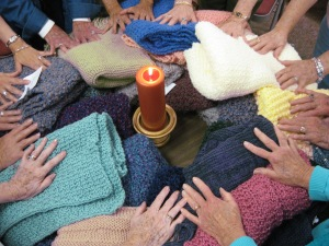 St. Mary's prayer shawl ministry, Sept. 2010 (8)